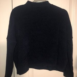 CROPPED MOCK-NECK SWEATER🪐